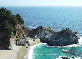Big Sur Postcard